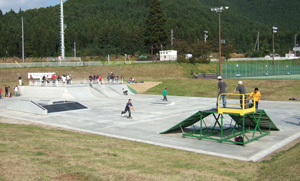 スケートボードパーク
